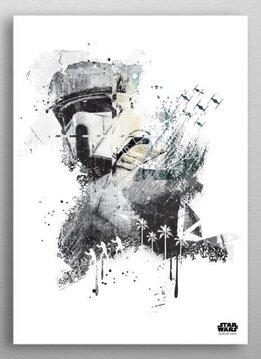 Star Wars Scarif Trooper - Jammed Transmission - Rogue One - Displate