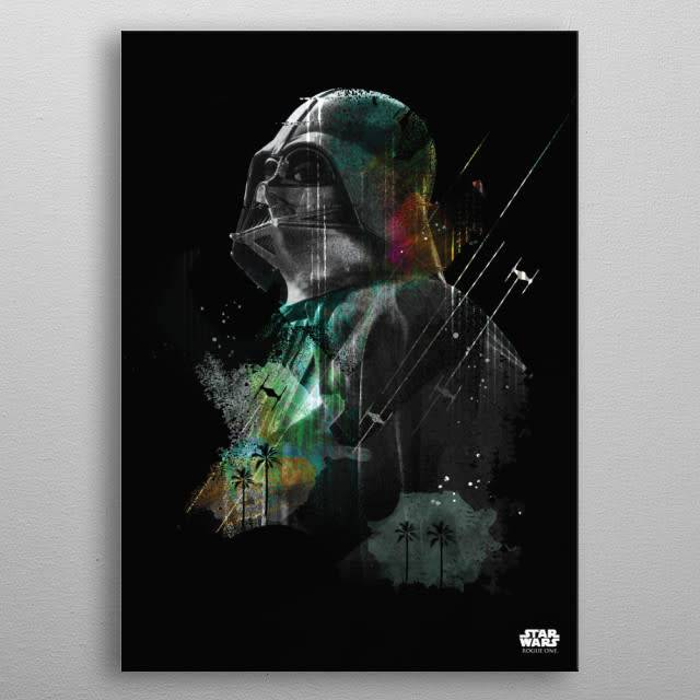 Star Wars Darth Vader - Jammed Transmission - Rogue One - Displate
