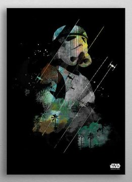 Star Wars Stormtrooper - Jammed Transmission - Rogue One - Displate