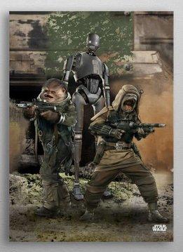 Star Wars Rebel Ambush | Battle of Scarif |  Displate
