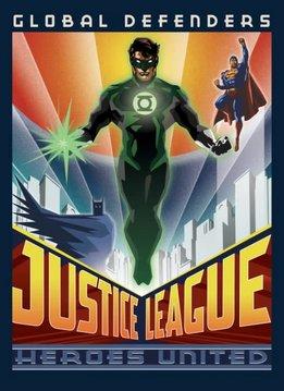 Displate Global Defenders | Justice League Retro | Displate