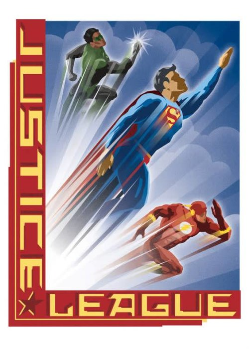 DC Comics Heroic Age  | Justice League Retro
