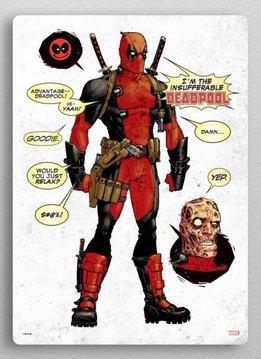 Marvel Older, More Disgusting Avocado | Deadpool | displate