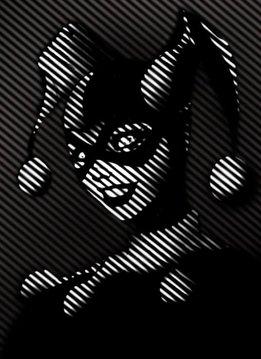 Displate Harley Quinn - Batman Noir - Displate