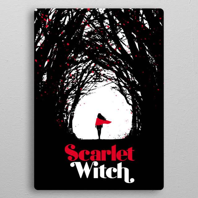 Star Wars Witches' Road -Scarlet Witch Covers- Displate