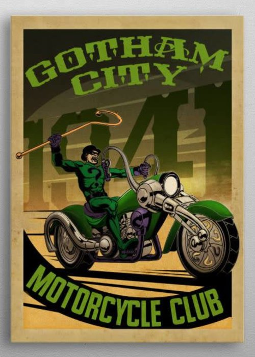 DC Comics Ridler Rider  | Gotham City Motorcycle Club
