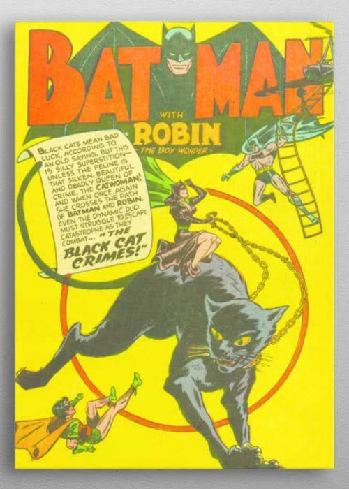 DC Comics Classic Cat