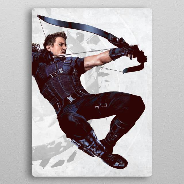 Marvel Hawkeye - Civil War United We Stand - Displate