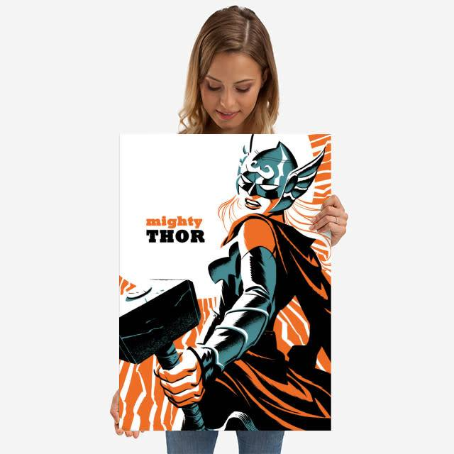 Displate Thor - Marvel Now - Displate