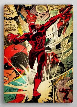 Displate Daredevil - Marvel silver age - Displate
