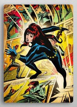 Displate Black Widow | Marvel silver age | Displate