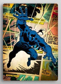 Displate Copy of Black Panther   Marvel silver age   Displate