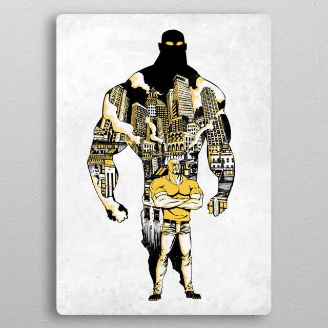 Displate Luke cage - The Defenders - Displate
