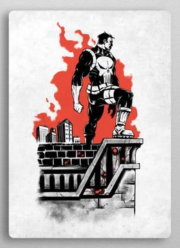 Displate Punisher | The Defenders | Displate