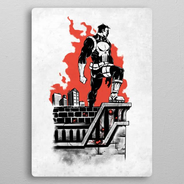 Displate Punisher - The Defenders - Displate