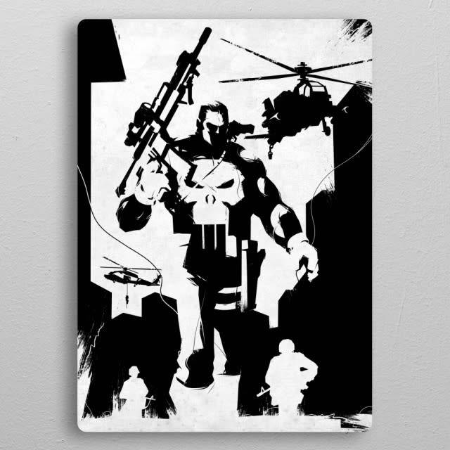Displate Frank Castle- The Defenders - Displate