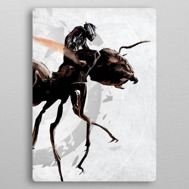 Displate Ant-Man - Civil War United We Stand - Displate