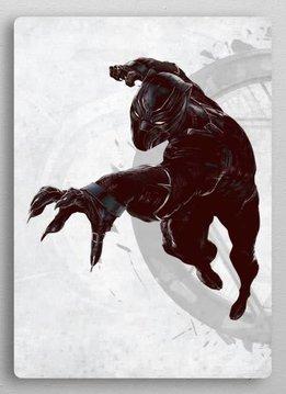 Displate Black Panther | Civil War United We Stand | Displate
