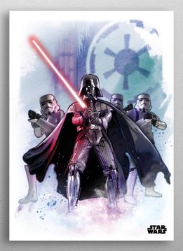 Star Wars The Dark Lord   Star Wars Iconic Paintings   Displate
