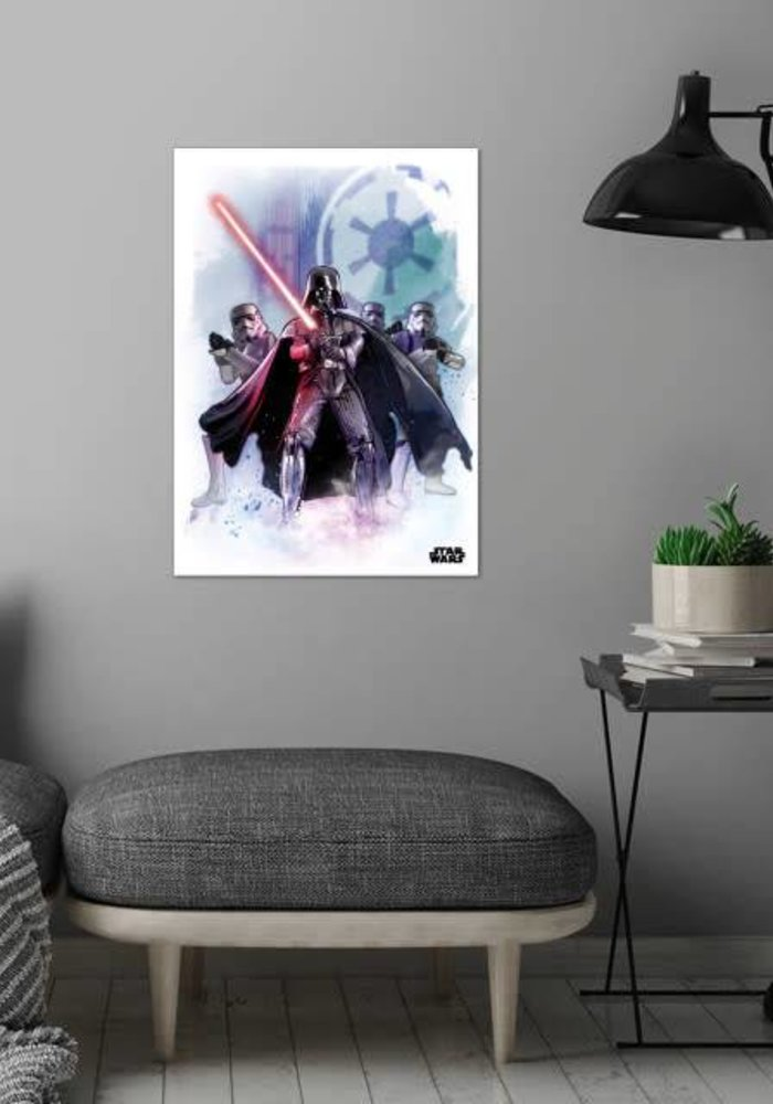 The Dark Lord  |  Star Wars Iconic Paintings