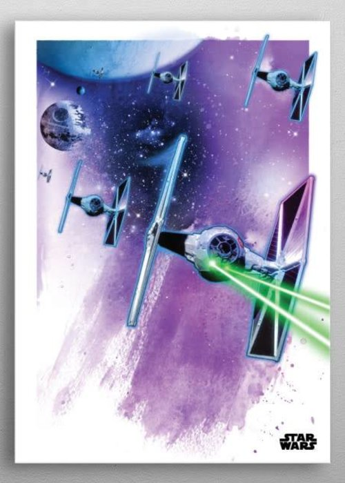 Star Wars Tie Fighters  | Star Wars Iconic Paintings