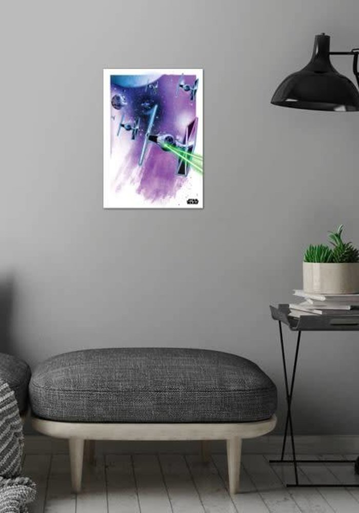 Tie Fighters  | Star Wars Iconic Paintings