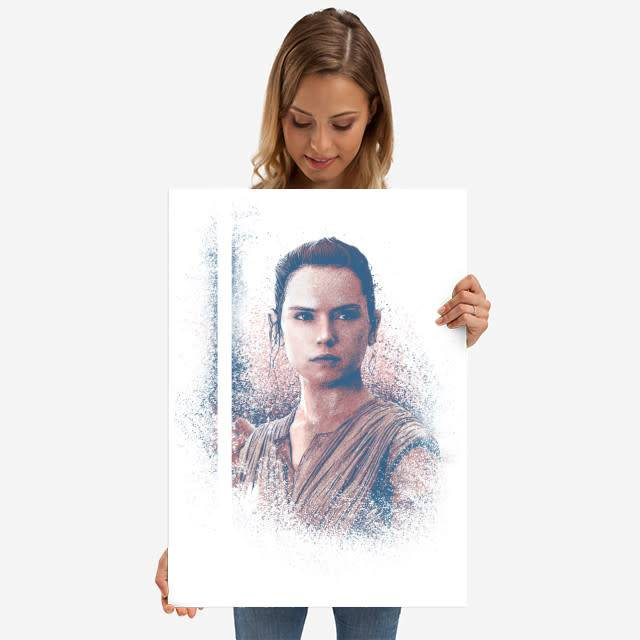 Star Wars Rey - Star Wars Guiding Force - Displate