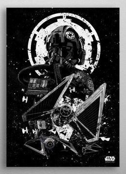 Star Wars Tie Striker - Star Wars Pilots Displate