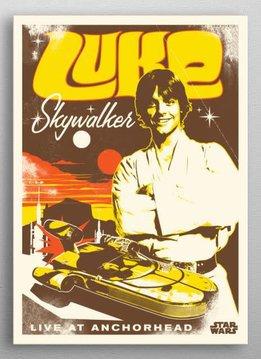 Star Wars Luke | Star Wars Legends | Displate