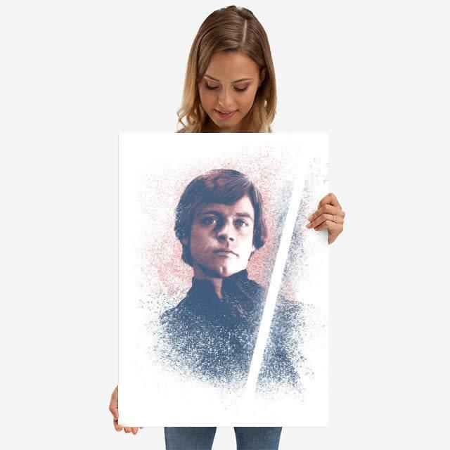 Star Wars Luke - Star Wars Guiding Force - Displate