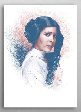 Star Wars Leia | Star Wars Guiding Force | Displate