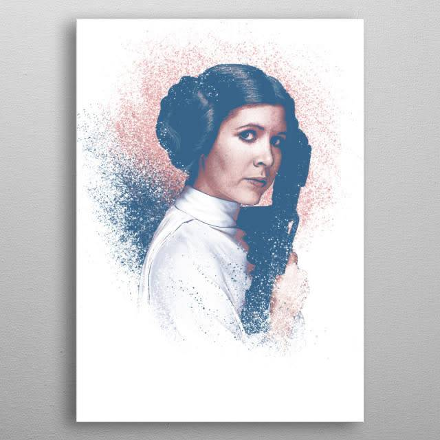 Star Wars Leia - Star Wars Guiding Force - Displate