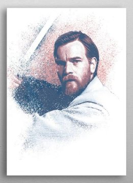 Star Wars Obi Wan Kenobi - Star Wars Guiding Force - Displate