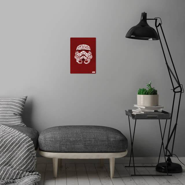 Star Wars Stormtrooper - Faces Of The Galaxy - Displate