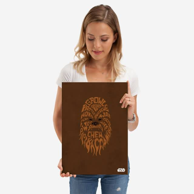 Star Wars Chewbacca - Faces Of The Galaxy - Displate