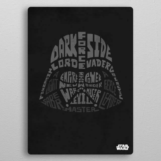 Star Wars Darth Vader - Faces Of The Galaxy - Displate