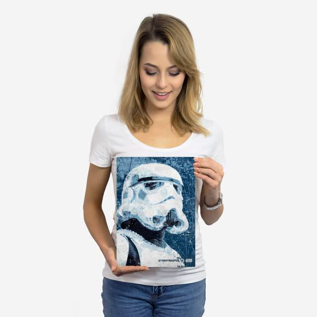 Star Wars StormTrooper - Rogue One Wanted- Displate