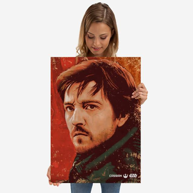Star Wars Cassian Andor - Rogue One Wanted- Displate