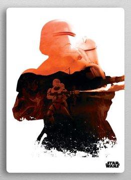 Star Wars Flame Trooper - Resistance vs First Order Displate