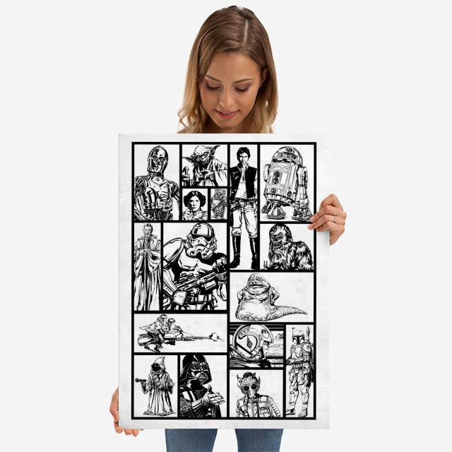 Star Wars The Good The Bad The Ugly Transport - Star Wars Blueprints - Displate