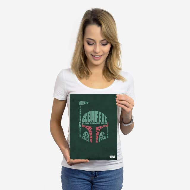 Star Wars Boba Fett - Faces Of The Galaxy - Displate