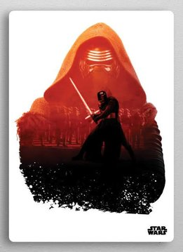 Star Wars Kylo - Resistance vs First Order Displate