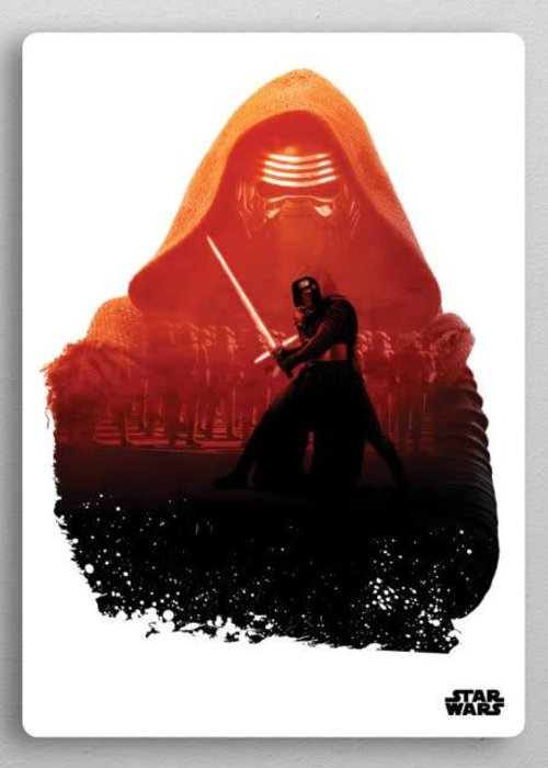 Star Wars Kylo | Resistance vs First Order | Displate