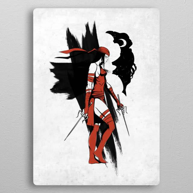 Displate Elektra - The Defenders - Displate