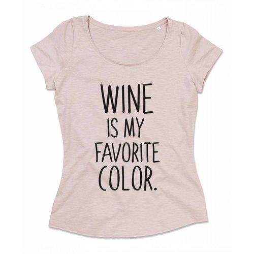 Wine is my favorite color.