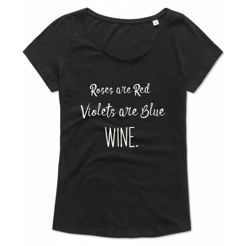 Roses are red Wine.