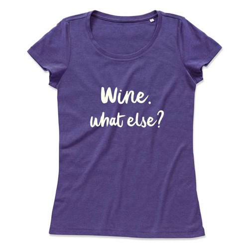 Wine. what else?