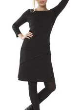 TESSA KOOPS CHANTAL NERO DRESS