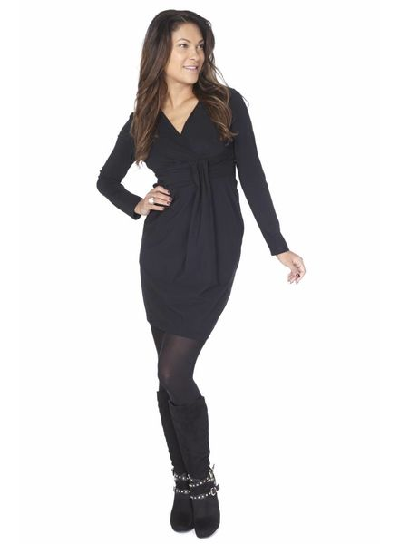 TESSA KOOPS JACKY CURVY NERO DRESS