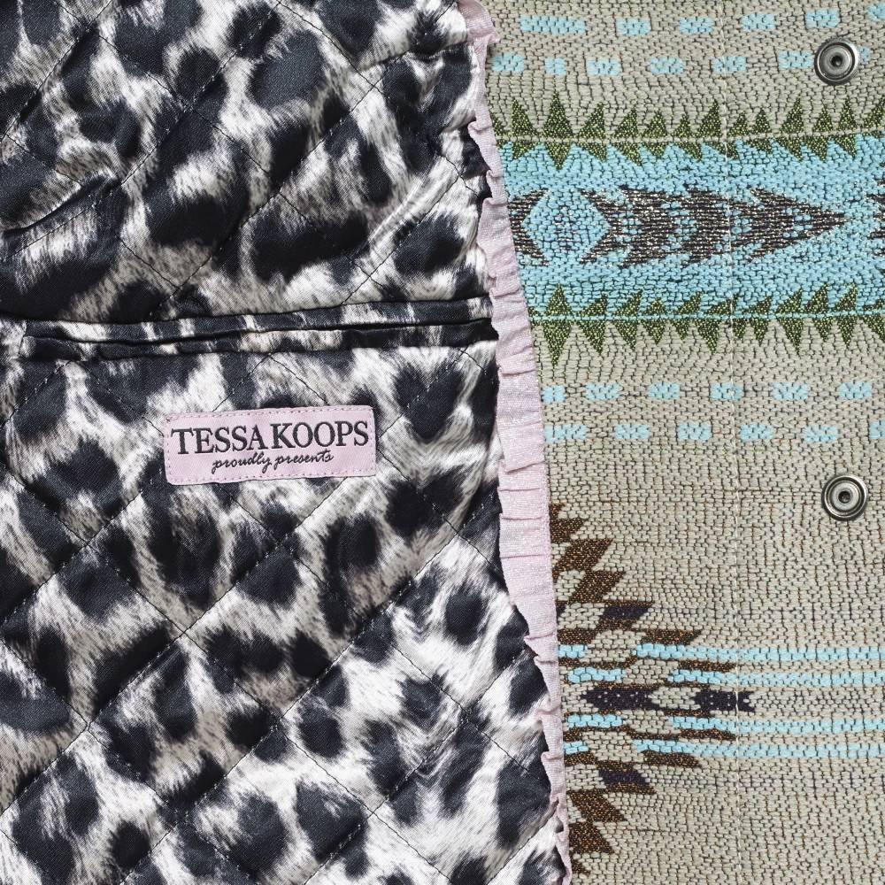TESSA KOOPS CARA IKAT BLUE COAT
